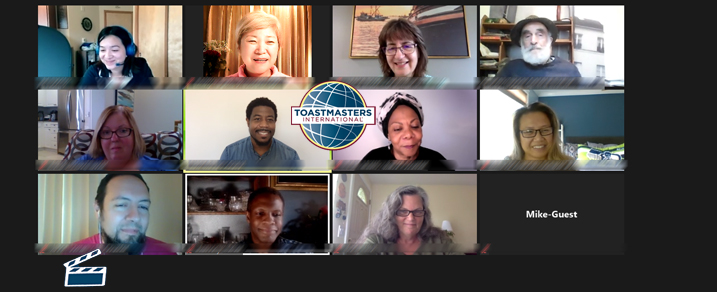 Spotlight toastmasters highlights from AWAKEN THE SPARK WITHIN RECAP meeting on October 17, 2020